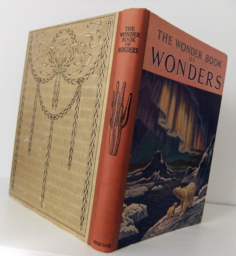 1950s vintage book - The Wonder Book of Wonders - thirteenth edition